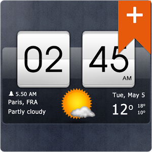 Sense Flip Clock & Weather Pro