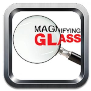 Magnifying Glass Simulator