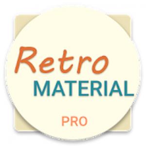 Retro Material EMUI 5.X/8.0 Theme