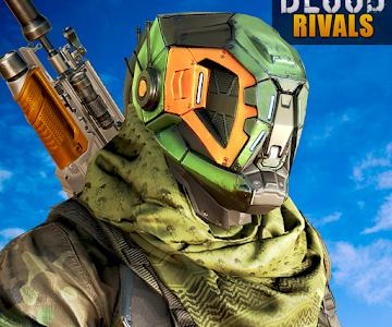 Blood Rivals Battleground Shooting Games