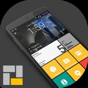 Square Home 3 - Launcher Windows style