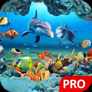 Fish Live Wallpaper 3D Aquarium Background HD