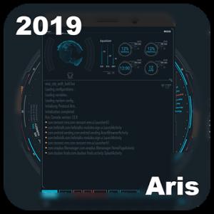 SciFi Launcher -- Aris Theme