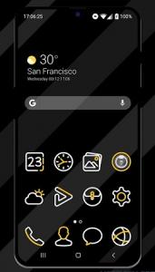 Lemon Line Icon Pack