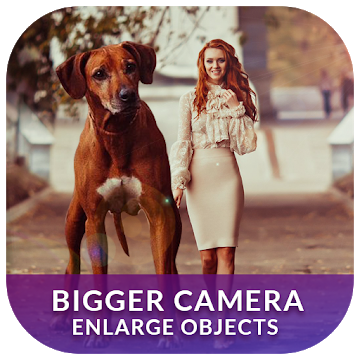 XXL Camera Enlarge Objects in Photos