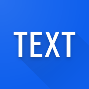 Simple text widget - Text widget for android