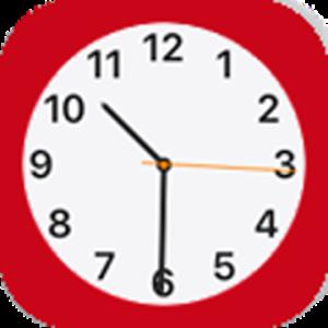 Phone X Clock