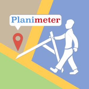 Planimeter - GPS area measure land survey on map