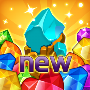 Jewels fantasy Easy and funny puzzle game